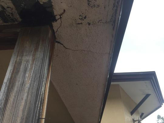 福島県耶麻郡猪苗代町のお家で雪によって壊れた屋根を火災保険を使って屋根修理
