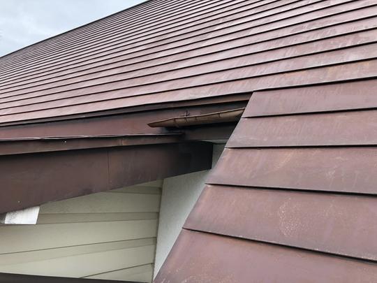 福島県耶麻郡磐梯町のご自宅で、雪によって壊れた雨樋を火災保険申請した事例