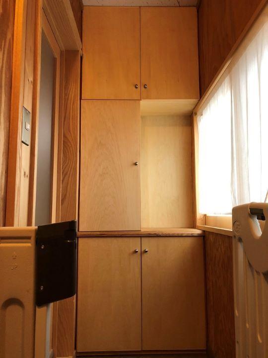 福島県耶麻郡猪苗代町のお家で使いづらかった下駄箱をリフォームした家具インテリア事例
