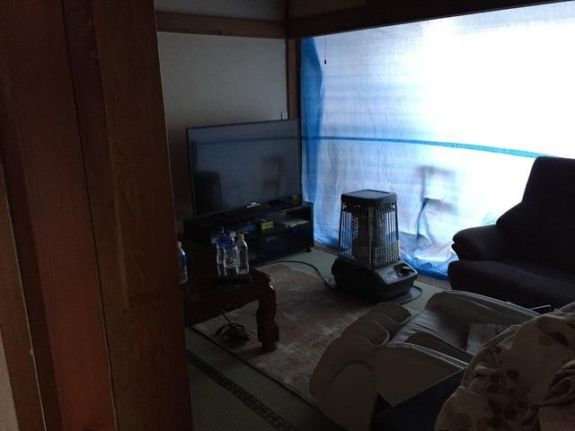 福島県郡山市の平屋住宅で、サッシ交換や断熱材交換等を行った全面リフォーム事例