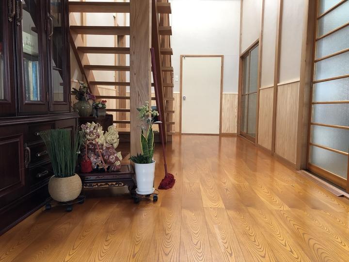 会津 喜多方市 リフォーム 内装リフォーム 腰板 秋田杉 自然素材