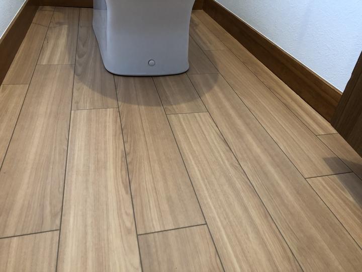 福島県郡山市で古くなったトイレをタカラのティモ二Fシリーズに交換した水回りリフォーム