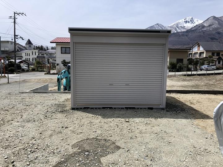 会津若松市 リフォーム 増改築 外構 エクステリア 物置 ヨド物置