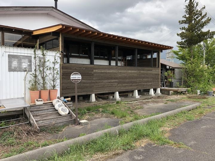 福島県耶麻郡猪苗代町のカフェで無垢材を使ってテラスを増築した自然素材リフォーム