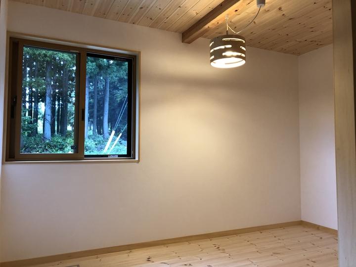 猪苗代町 リフォーム 増築 改築 レッドパイン 漆喰 外壁 杉板